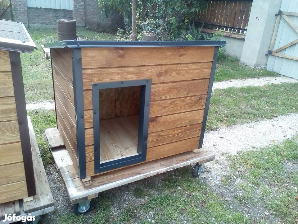 Szigetelt modern stílusú XXL-es kutyaház
