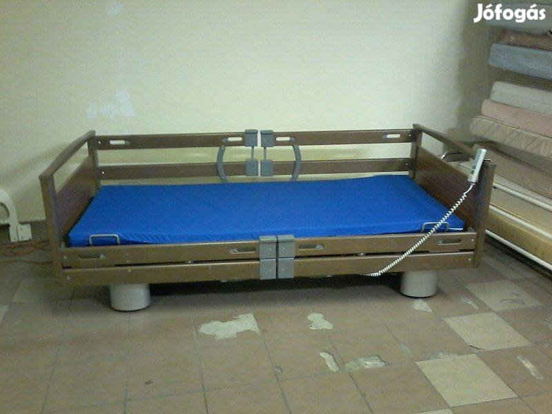 Szuper 5funkció Elektromos betegágy kórházi beteg ápolási ágy Garancia
