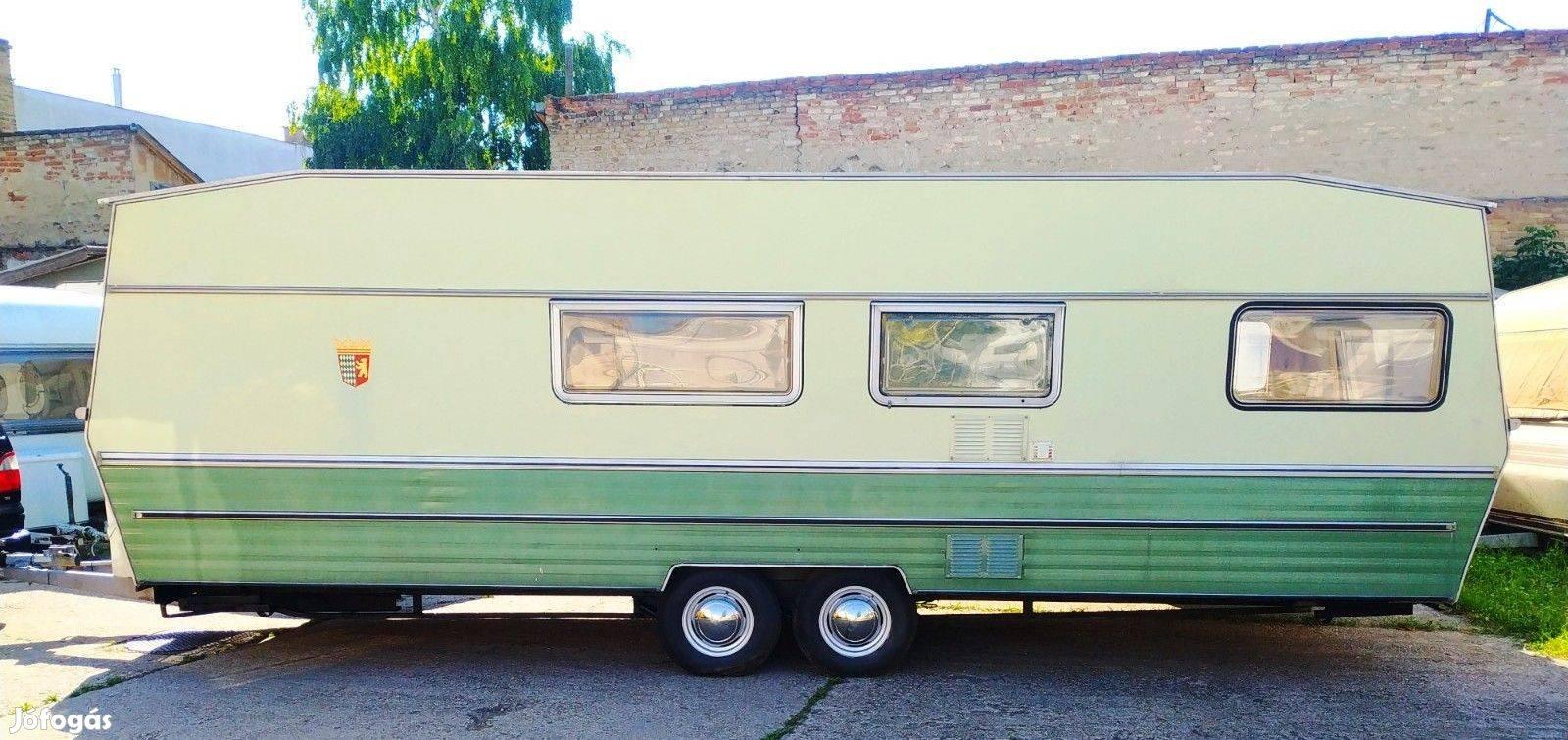 Tabbert Weekend 690 es Német lakókocsi 0 km-es eladó