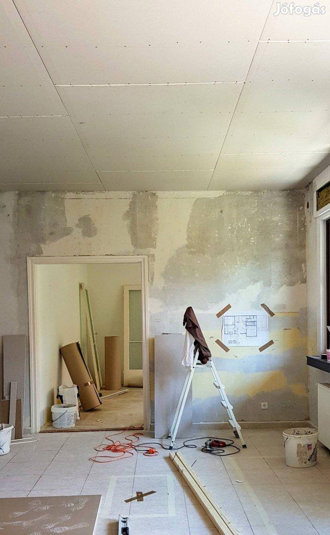 Teljeskörü lakásfelujitást belső külső