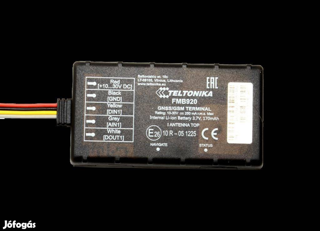 Teltonika FMB920 GPS Autó nyomkövető