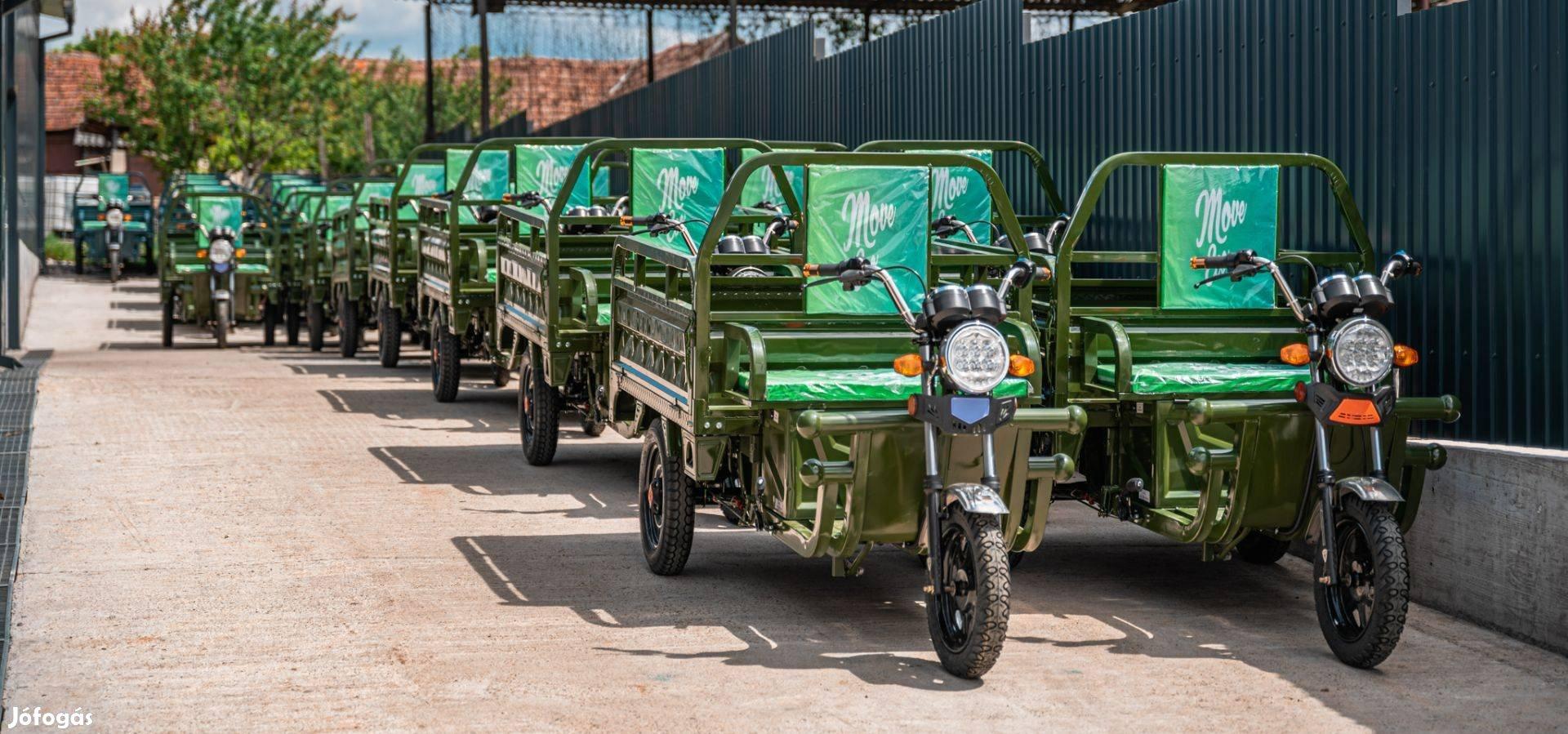 Terheszállitó Elektromos Tricikli Cargo 500 MOVE ECO