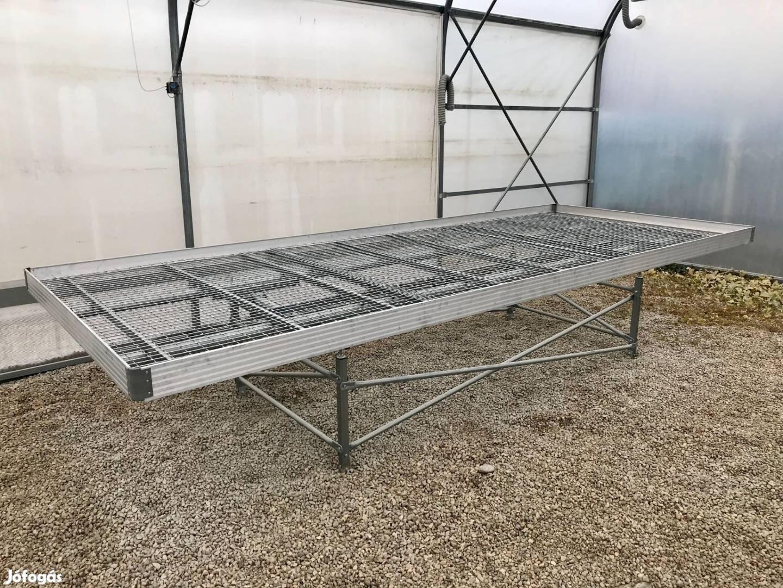 Termesztőasztalok és árudai asztalok