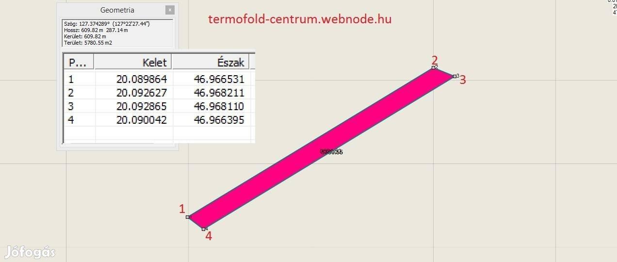 Tiszakécskén 5782 nm-es szántó, 1/1-es, eladó