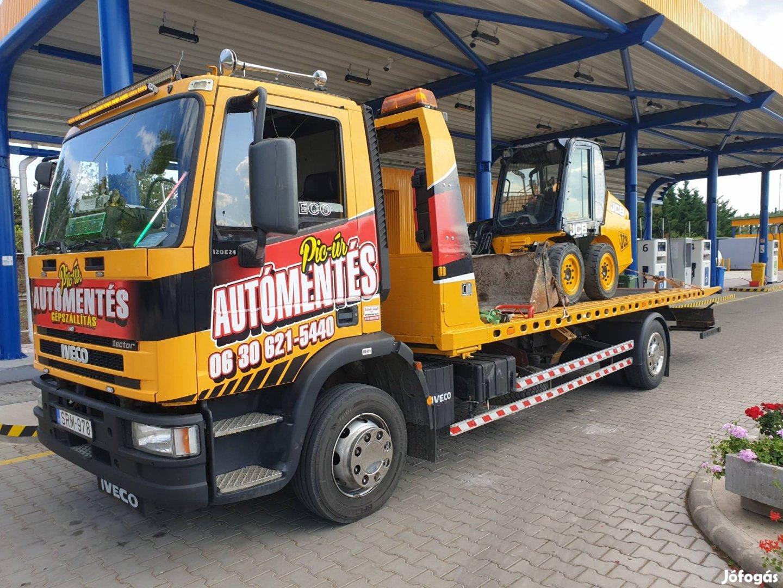 Traktor, Mtz, Zetor, eke, pótkocsi szállítás Autómentés Gépszállitás