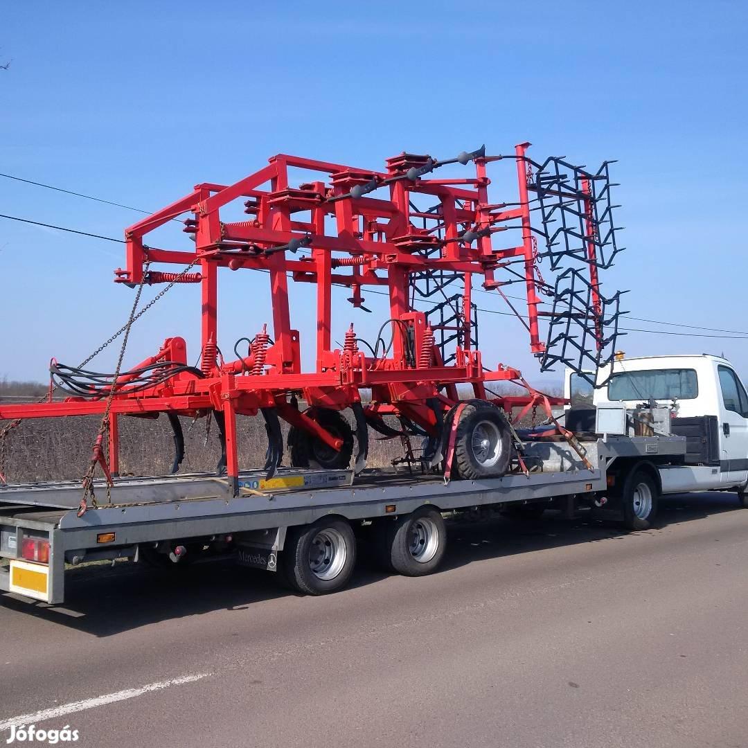 Traktor, Permetező, Bálázó, Pótkocsi,Targonca, kombájn, Gépszállítás, 1. Kép