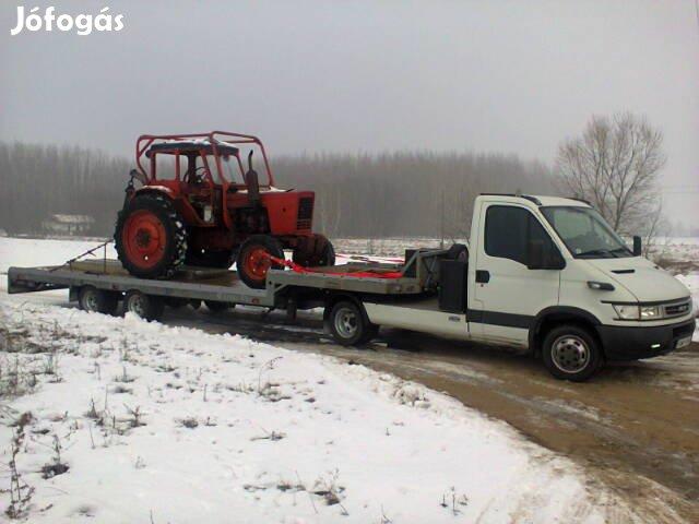 Traktor, Permetező, Bálázó, Pótkocsi,Targonca, kombájn, Gépszállítás, 2. Kép