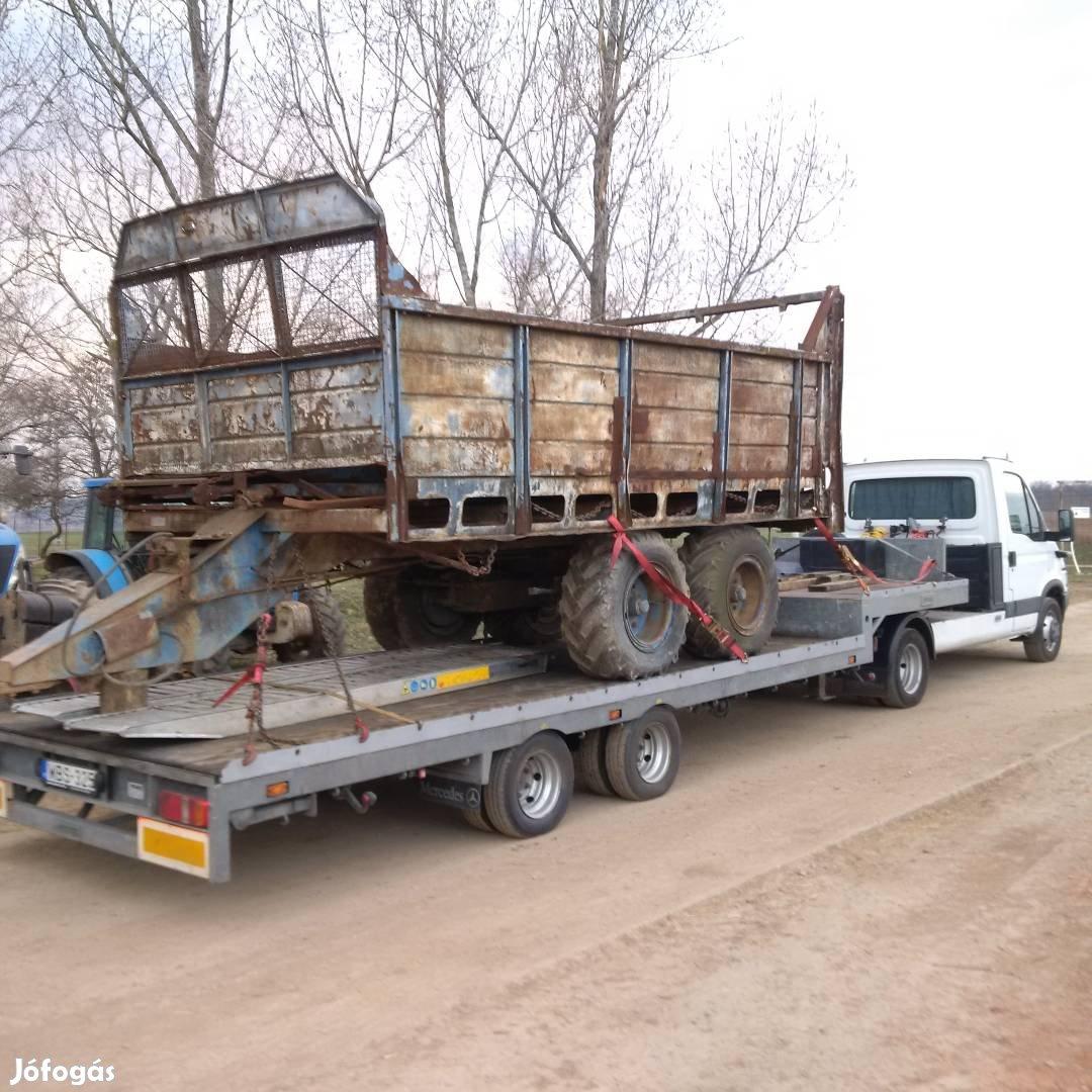 Traktor, Permetező, Bálázó, Pótkocsi,Targonca, kombájn, Gépszállítás, 3. Kép
