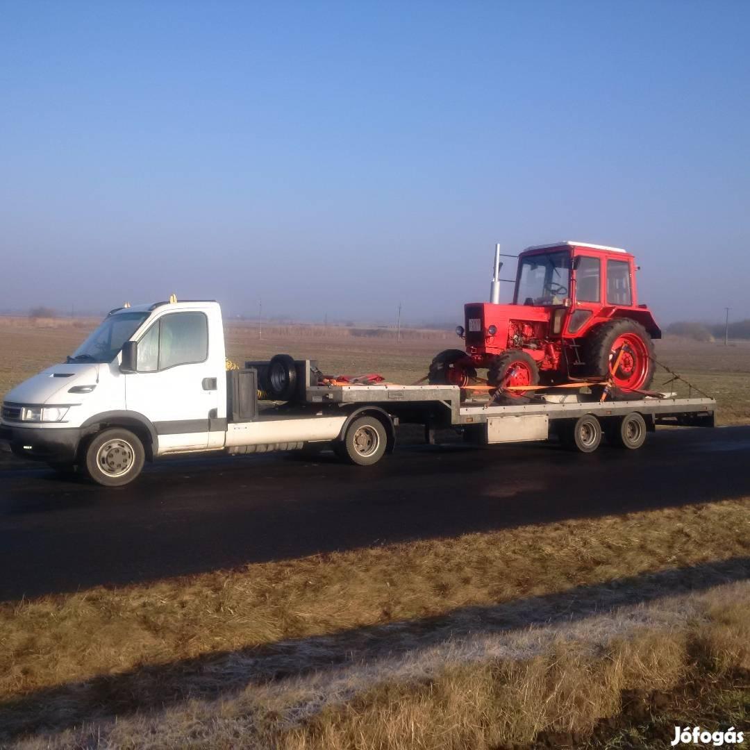 Traktor, Permetező, Bálázó, Pótkocsi,Targonca, kombájn, Gépszállítás, 8. Kép