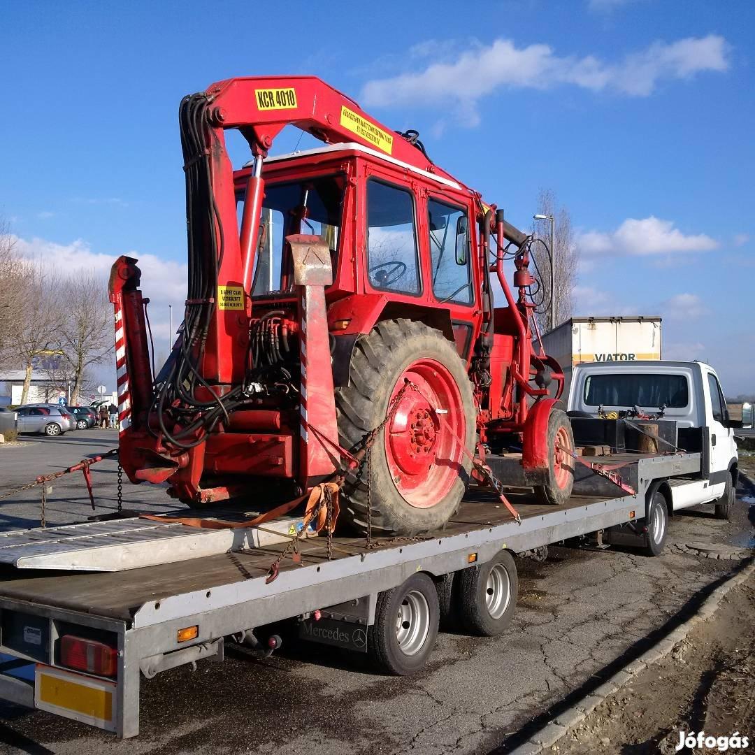 Traktor, Permetező, Bálázó, Pótkocsi,Targonca, kombájn, Gépszállítás, 9. Kép