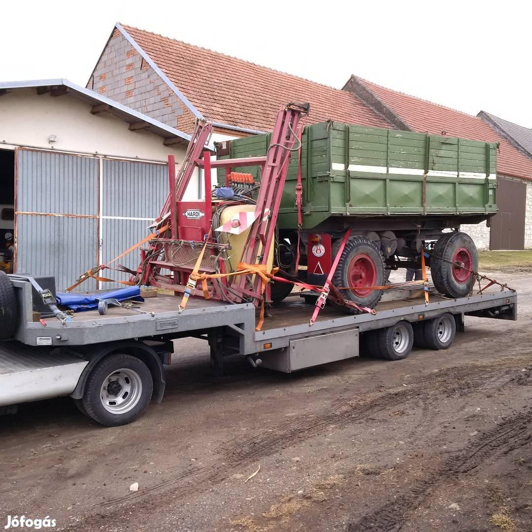 Traktor, Permetező, Bálázó, Pótkocsi,Targonca, kombájn, Gépszállítás, 10. Kép
