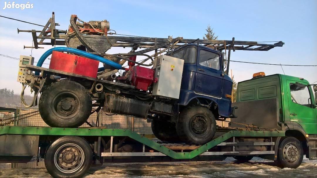 Traktor, Permetező, Öntöződob, Targonca, Gépszállítás, 2. Kép