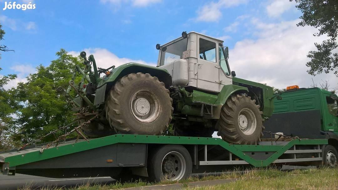 Traktor, Permetező, Öntöződob, Targonca, Gépszállítás, 6. Kép