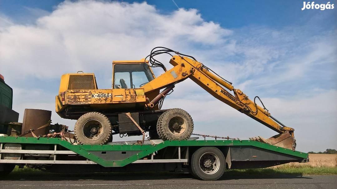 Traktor, Permetező, Öntöződob, Targonca, Gépszállítás, 7. Kép
