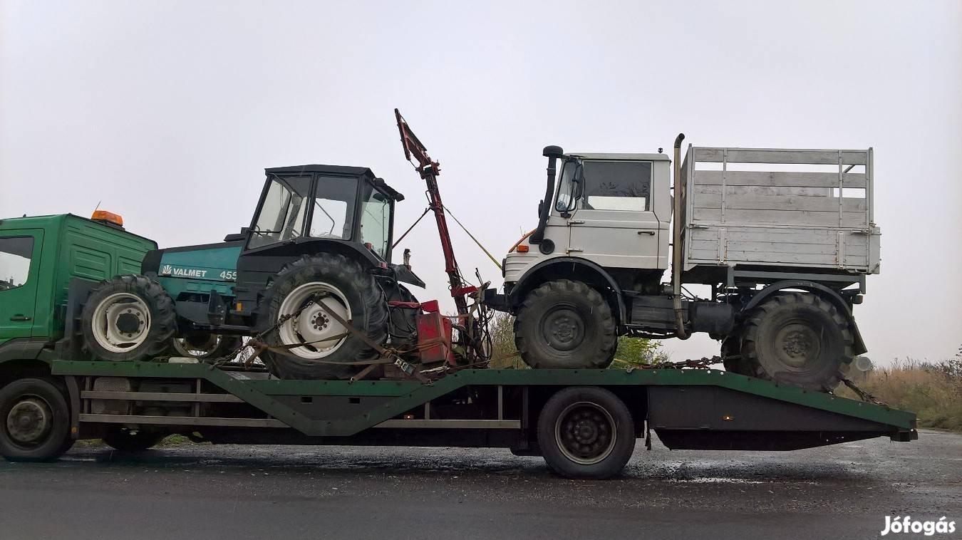 Traktor, Permetező, Öntöződob, Targonca, Gépszállítás, 9. Kép