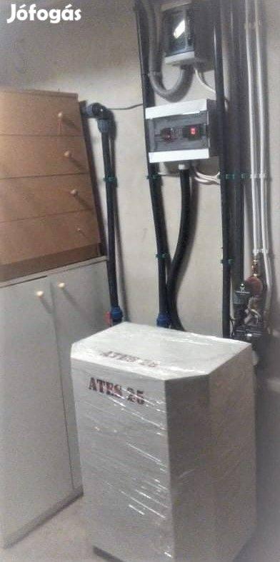 Tűzifa fűtés helyett a biztonságos ATES hőszivattyú