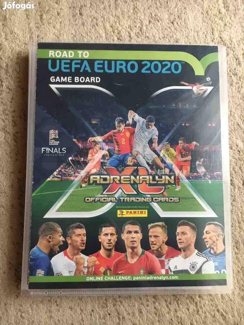 UEFA Road to euró 2020 fociskártya