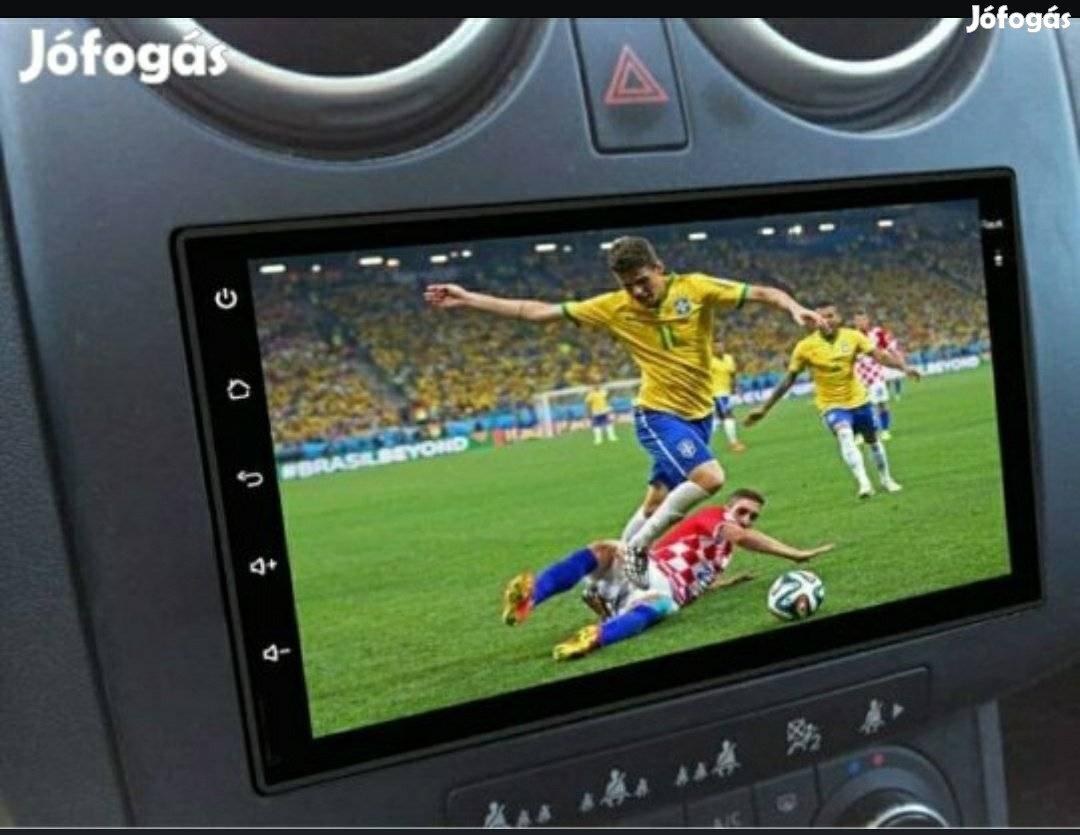 Új 2GB ramos 2din Magyar Android autó Multimédia rádió gps eu térkép