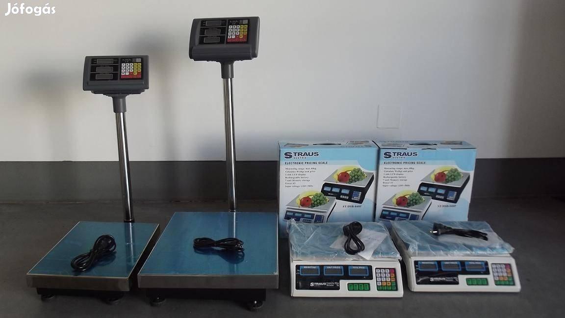 Új 30kg 40kg 150kg 100kg 300 500 kg-os Digitális mérleg eladó