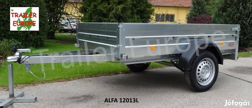 Új ALFA fék nélküli utánfutó