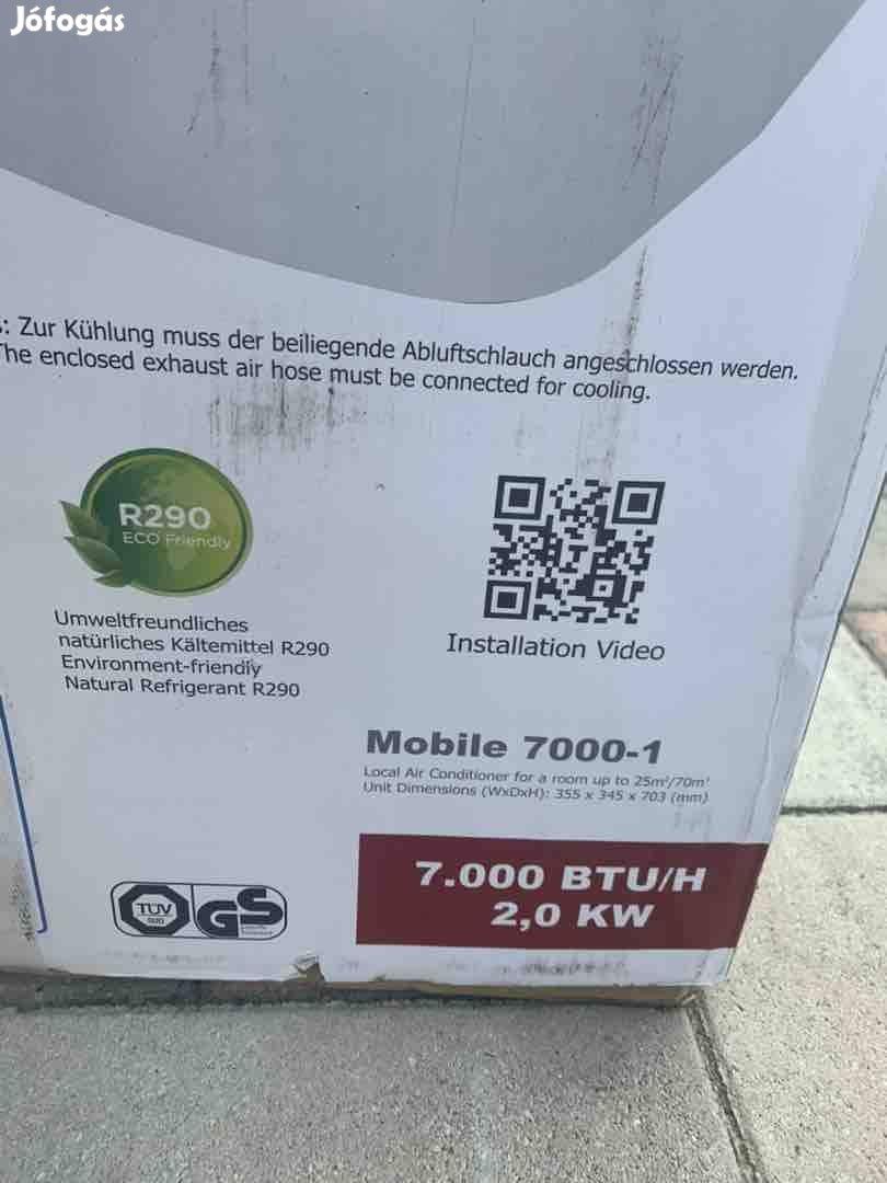 Új Comfee mobil klíma