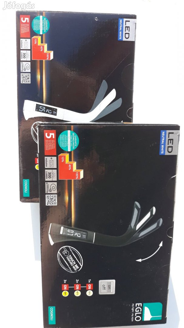 Új Eglo LED íróasztali lámpa olvasó lámpa, 1. Kép