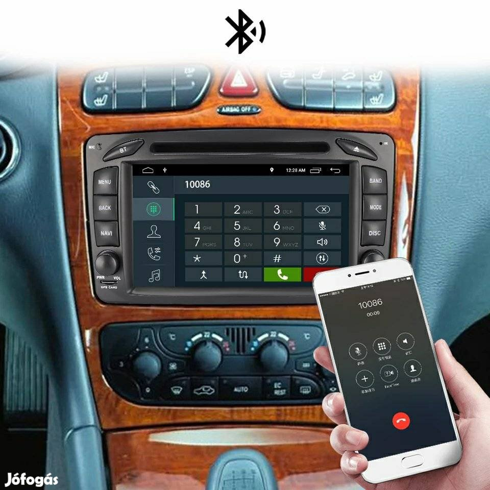 Új Mercedes Vito Sprinter E C A B ML CLS CLK Viano autó gps autórádió