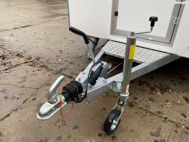 Új Mini Büfékocsi Utánfutó Food Truck Mozgóbolt