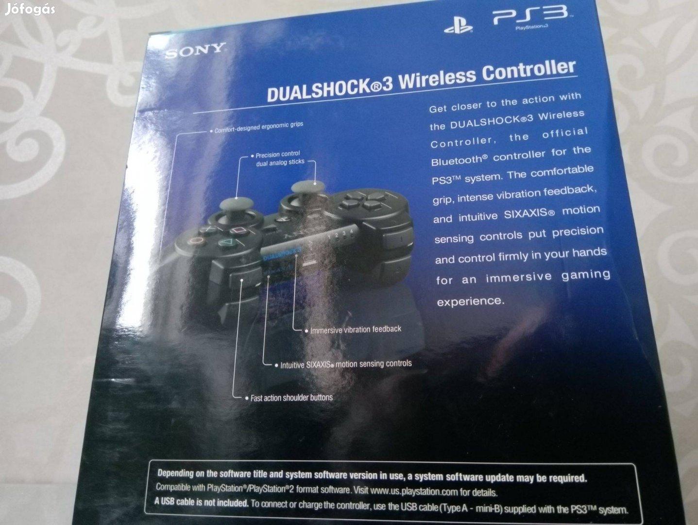 Új Sony Playstation 3 (PS3) wireless kontroller, joypad, kar