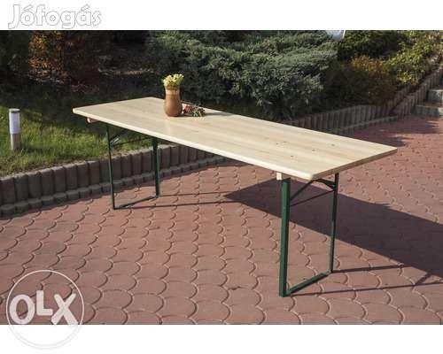 Új Sörpadok,7o cm széles asztallal