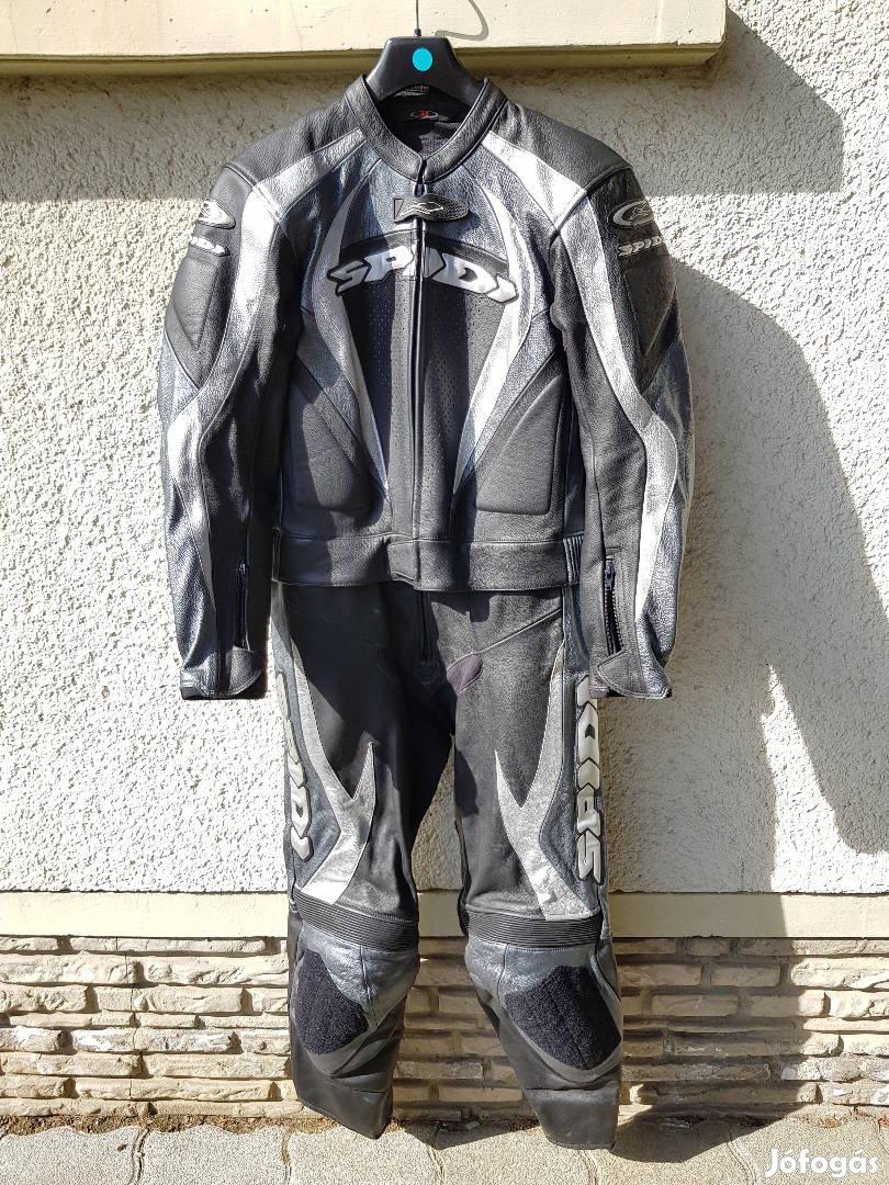 Új Spidi kétrészes púpos motoros bőrruha 48-as - postázom is ... b8cbb100e1