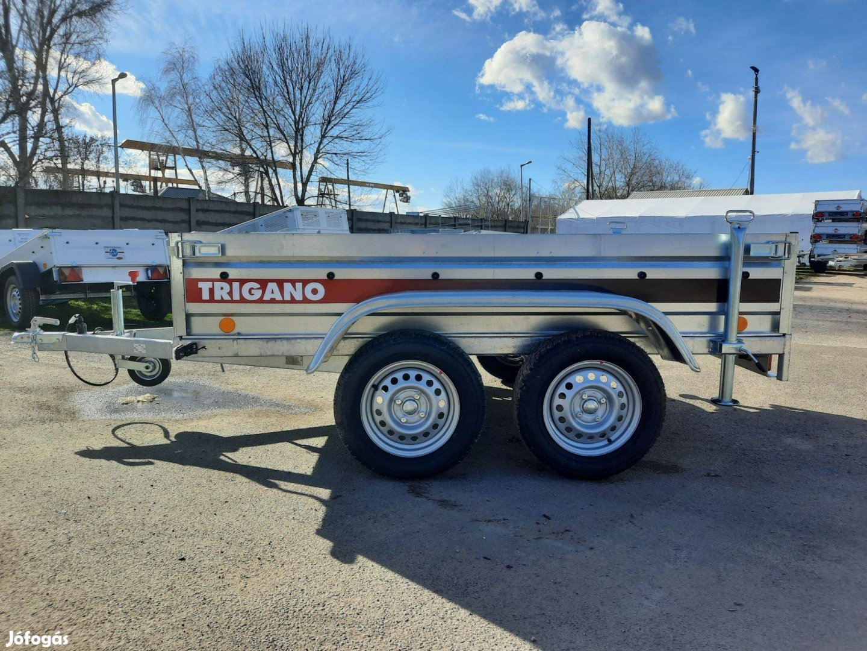 Új Trigano 2P233, 2 tengelyes, 750 kg-os utánfutó eladó, 369.000,-Ft