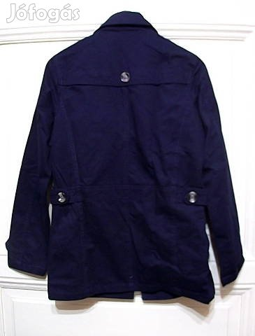Új! Őszi-tavaszi, sötét kék, férfi kabát
