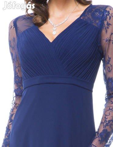 6f28b82606 Új, Új, sötétkék koszorúslány, alkalmi női ruha, 42-es méret - IX ...