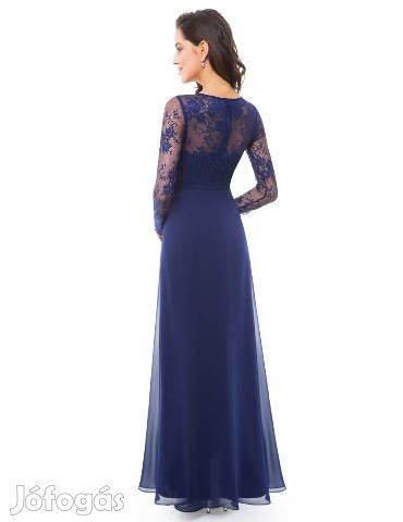 93de554695 Új, Új, sötétkék koszorúslány, alkalmi női ruha, 42-es méret - IX ...