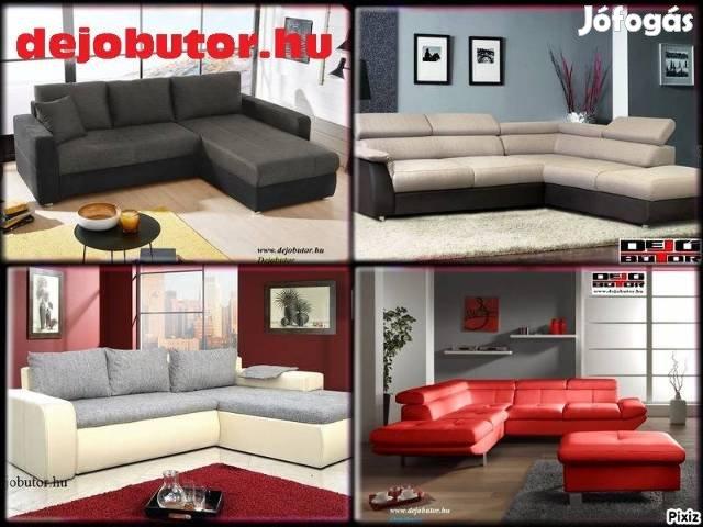 Új kanapé ülőgarnitúra sarok 109000Ft tól + 600 akciós modell készlet, 6. Kép