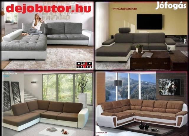Új kanapé ülőgarnitúra sarok 109000Ft tól + 600 akciós modell készlet, 10. Kép