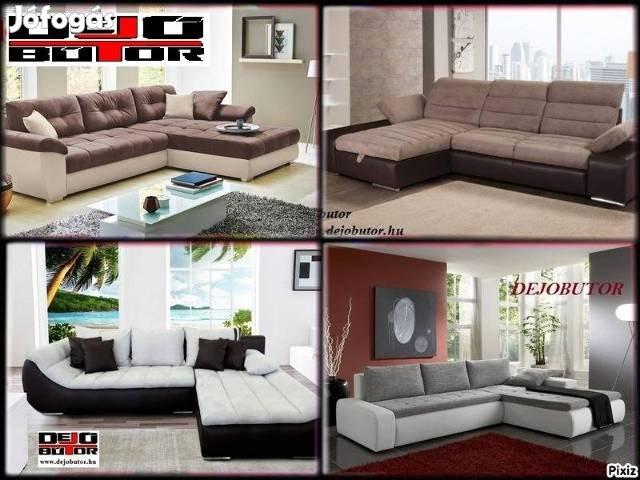 Új kanapé ülőgarnitúra sarok 109000Ft tól + 600 akciós modell készlet, 8. Kép