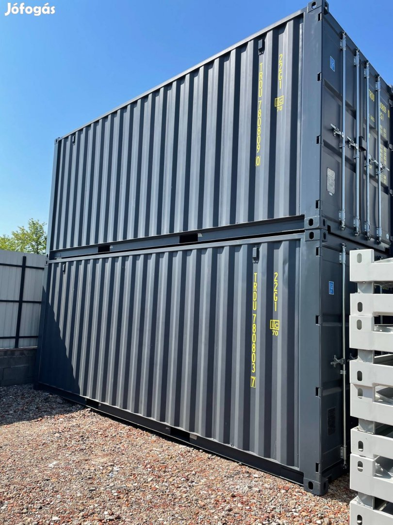 Új konténer raktárkonténer eladó 20láb méretű tengeri raktárkonténer