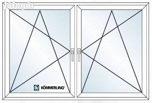 Új műanyag ablak, ajtó raktár készletről azonnal vihető 60x60 bny
