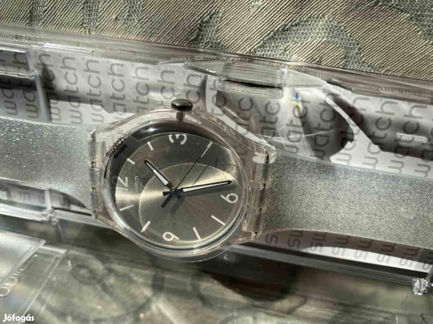 Új női Swarch fóliás karóra , ezüst Suok112 modell!