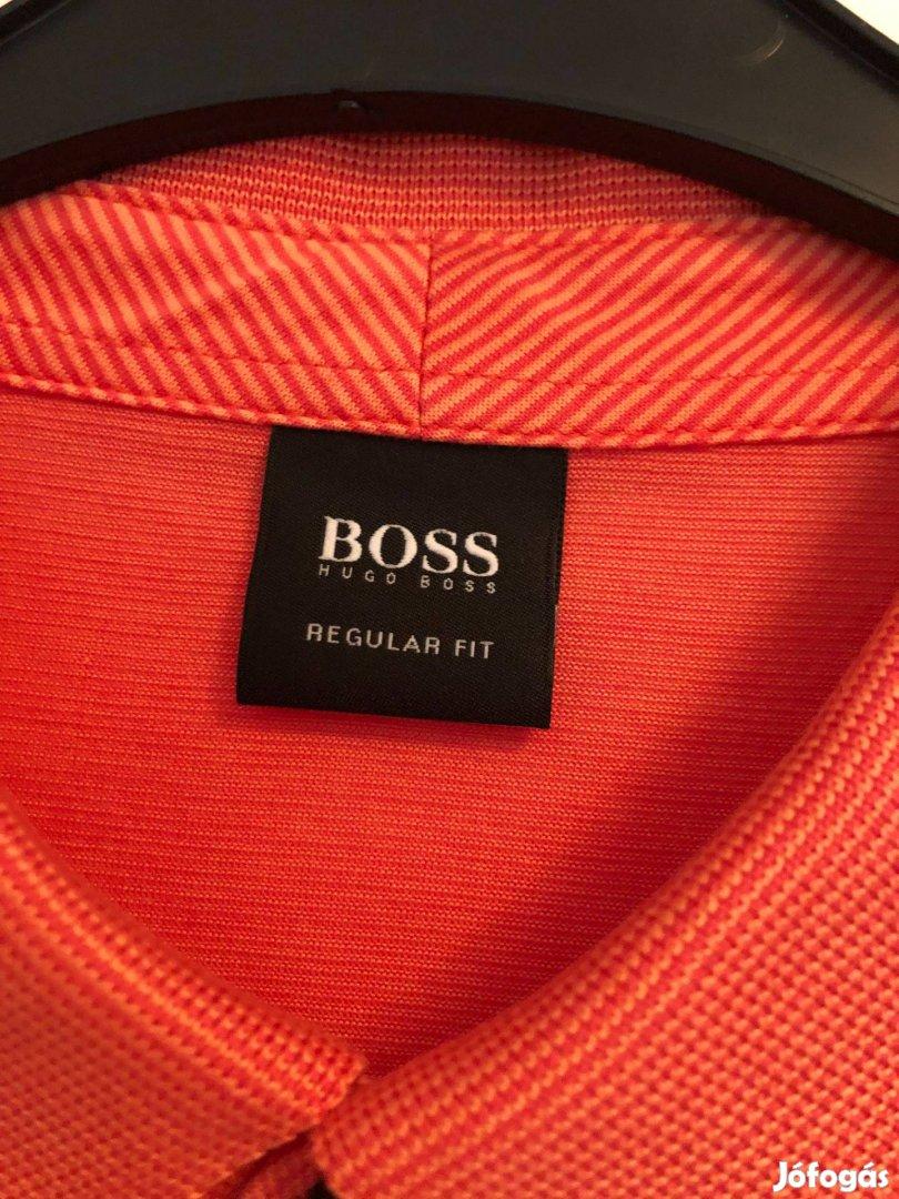 Új rövid ujjú Hugo Boss férfi póló eladó