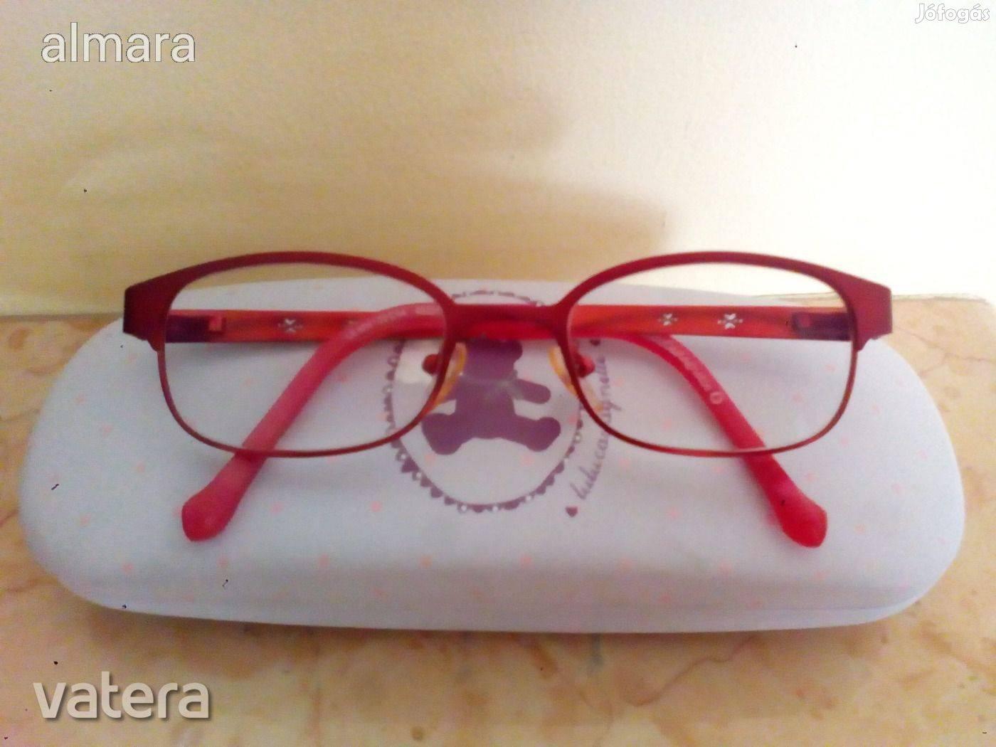 Újsz Lulu Castagnette dioptriás kislány optikai szemüveg - első tulaj