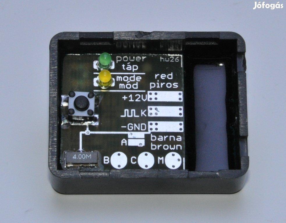 Ülésfoglaltság érzékelő helyettesítő légzsákrendszerhez, emulátor