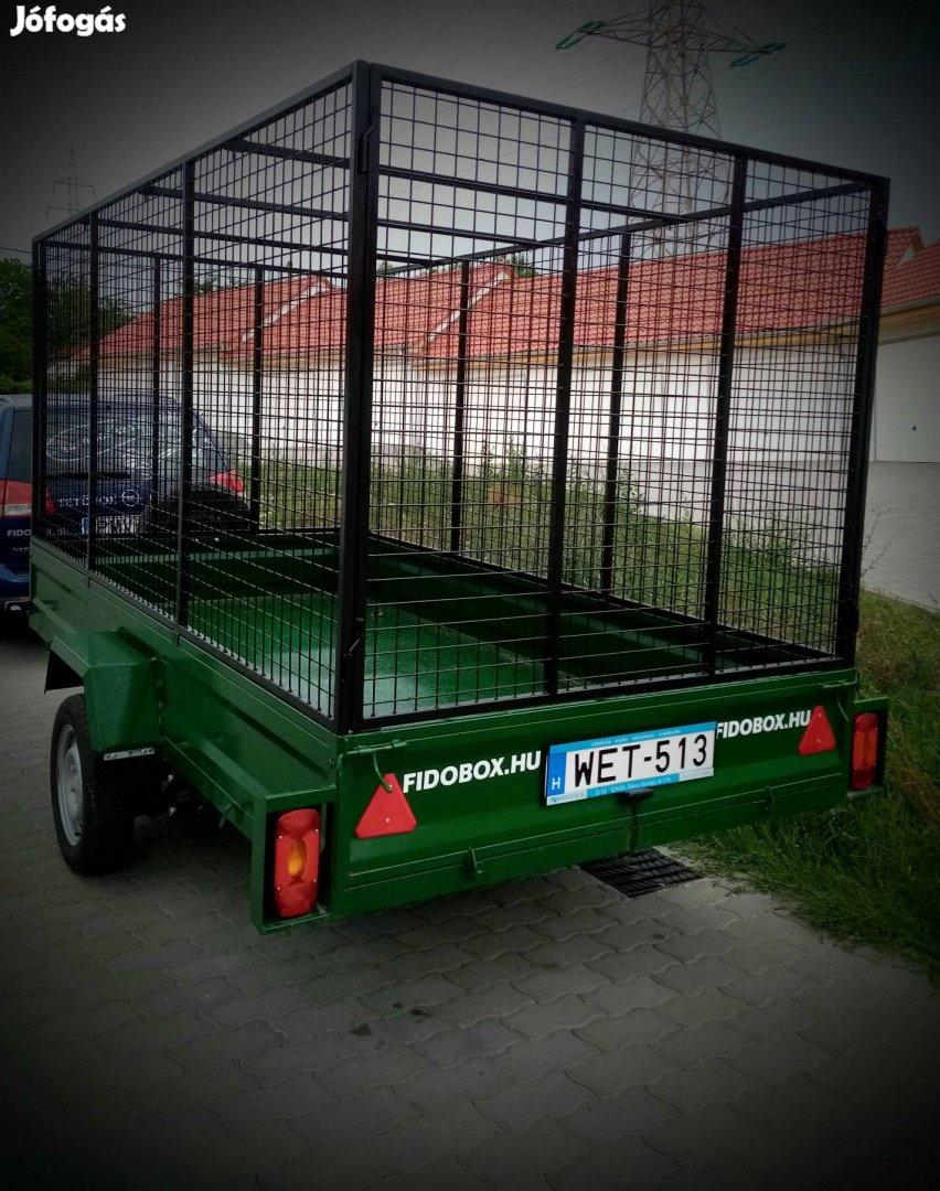 Utánfutó, motorszállító bérlés ,bérbeadás , kölcsönzés Pécs Pécsett
