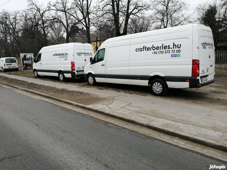 VW Crafter bérlés & VW Caddy bérlés kisteherautó bérlés. Budapest