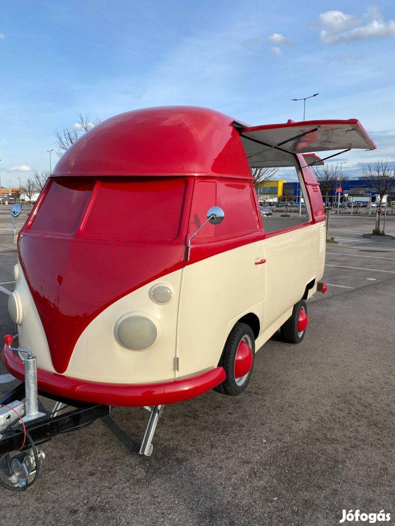 VW T1 Retro Büfékocsi Food Truck Egyedi