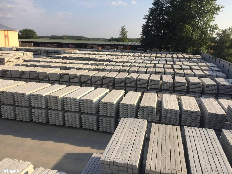 Vadkerítés kerítéselem kerítéspanel drótfonat kerítés betonoszlop drót