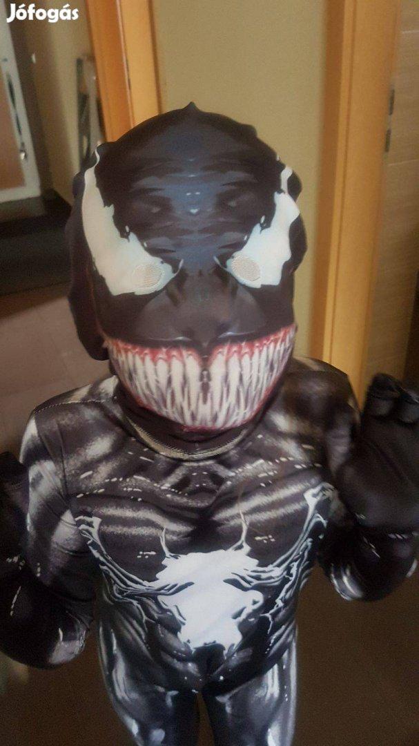 Venom elasztikus feszülős farsangi jelmez Spiderman Pókember