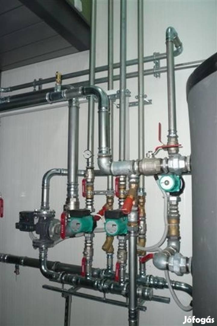 Víz-, gáz- és fűtésszerelőket keresünk németországi munkára